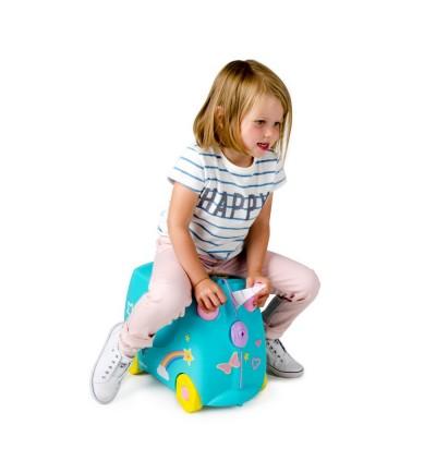 Trunki TR0287-GB01 Kids Ride-On Luggage Suitcase (UNA)