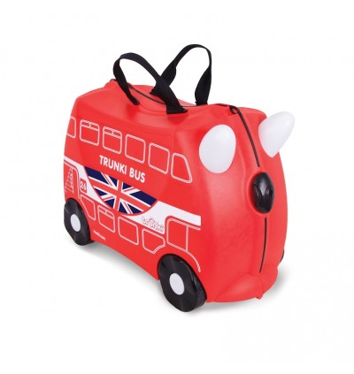 Trunki TR0186-GB01 Kids Ride-On Luggage Suitcase (Boris Bus)