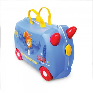 Trunki TR0317-GB01 Kids Ride-On Luggage Suitcase (Paddington)