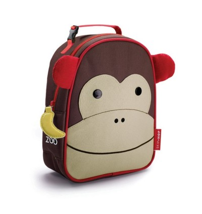 Original Skip Hop Zoo Lunchies Insulated Lunch Bag - Monkey