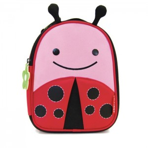 Original Skip Hop Zoo Lunchies Insulated Lunch Bag - Ladybug