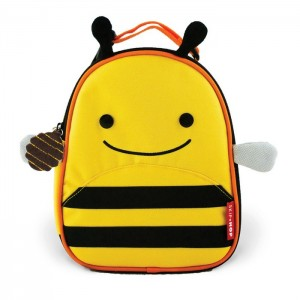 Original Skip Hop Zoo Lunchies Insulated Lunch Bag - Bee