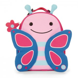 Original Skip Hop Zoo Lunchies Insulated Lunch Bag - Butterfly