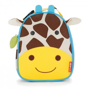 Original Skip Hop Zoo Lunchies Insulated Lunch Bag - Giraffe