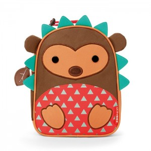 Original Skip Hop Zoo Lunchies Insulated Lunch Bag - Hedgehog