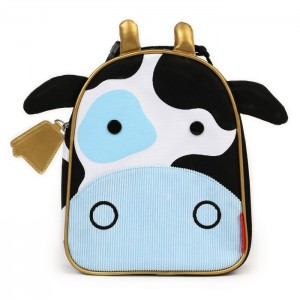 Original Skip Hop Zoo Lunchies Insulated Lunch Bag - Cow