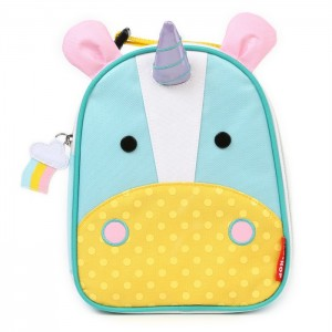Original Skip Hop Zoo Lunchies Insulated Lunch Bag - Unicorn