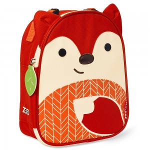 Original Skip Hop Lunchies Insulated Lunch Bag-Fox