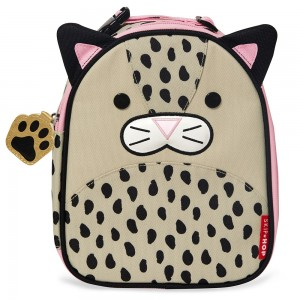 Original Skip Hop Zoo Lunchie Insulated Lunch Bag - Leopard