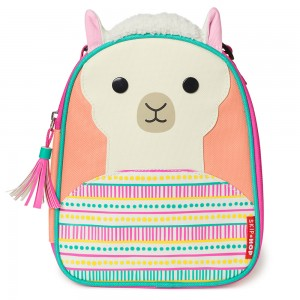 Original Skip Hop Zoo Lunchies Insulated Lunch Bag - Llama