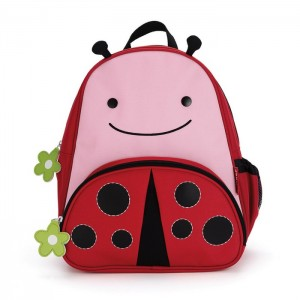 Original Skip Hop Zoo Packs Little Kids Backpacks - Ladybug