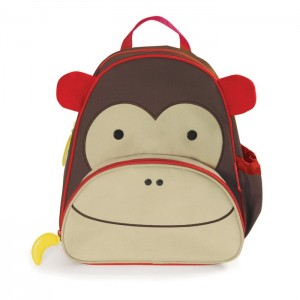Original Skip Hop Zoo Packs Little Kids Backpacks - Monkey