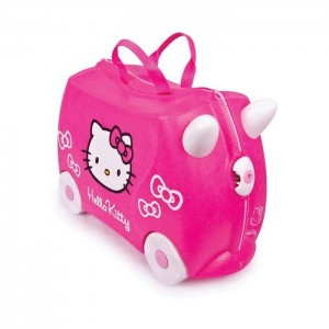 Trunki TR0131-GB01 Kids Ride-On Luggage Suitcase (Hello Kitty)
