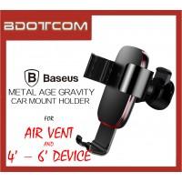 Baseus Metal Age Gravity Air Vent Car Mount Holder