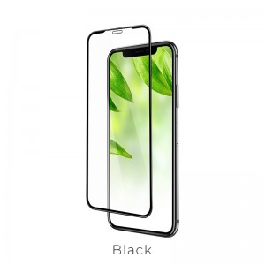 Hoco A1 series Shatterproof Edges Full Covered Tempered Glass for iPhone X / Xs