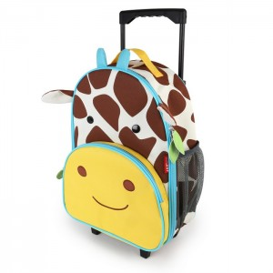 Original Skip Hop Zoo Kid Rolling Luggage - Giraffe