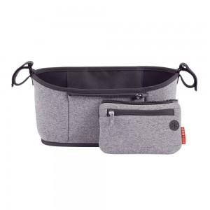 Original Skip Hop Grab & Go Stroller Organizer - Heather Grey