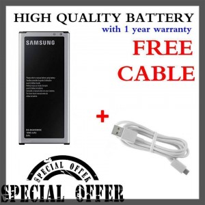 (Special Bundle) High Quality Battery with Free Micro USB Cable for Samsung Galaxy Alpha
