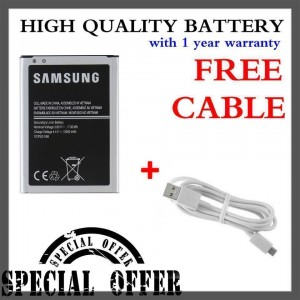 (Special Bundle) High Quality Battery with Free Micro USB Cable for Samsung Galaxy J1 2016