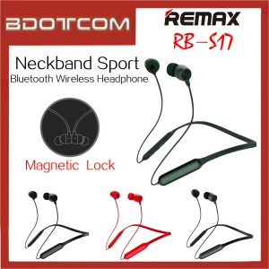 Remax RB-S17 Neckband Sport In-Ear Bluetooth Wireless Headphone