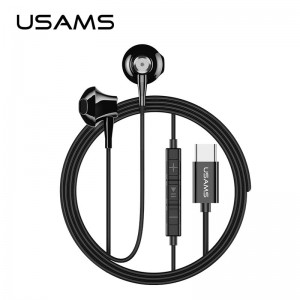 Usams Ep-25 HF Metal Type-C Connector Wired Earphone