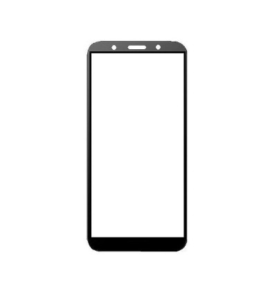 Full Covered Tempered Glass Screen Protector for Huawei Y5 Prime (Black)