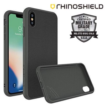 Original RhinoShield SolidSuit Protective Case for Apple iPhone X/Xs