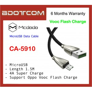 Mcdodo CA-5910 1.5M Super Charge 4A MicroUSB Data Cable with LED Light