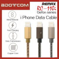 Remax RC-110i Gefon series Lightning Cable for iOS Device