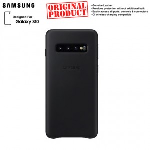 Original Samsung Leather Back Cover for Samsung Galaxy S10