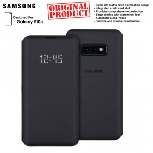 Original Samsung LED View Cover Wallet Case for Samsung Galaxy S10e