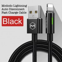 Mcdodo CA-460 1.2M Auto Disconnect Lightning Data Cable with LED Light