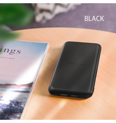 Yoobao W10 10000mAh Dual USB Port Quick Charge Power Bank with Wireless Charging