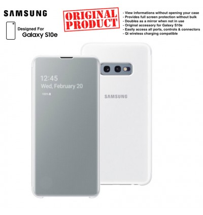 Orignal Samsung Clear View Cover Case for Samsung Galaxy S10e