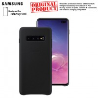 Original Samsung Leather Back Cover for Samsung Galaxy S10+ S10 Plus