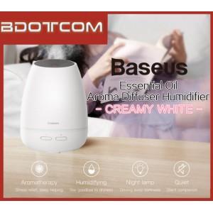 Baseus Creamy-White Essential Oil Aroma Diffuser Humidifier