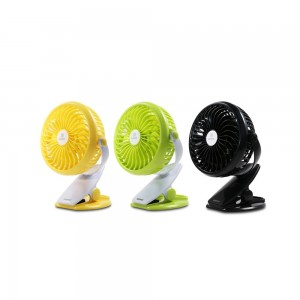 Original Remax F2 360 Rotation Portable Mini Clip Fans