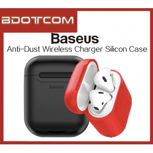 Baseus Anti-Dust Silicon Case Wireless Charger for Air Pods