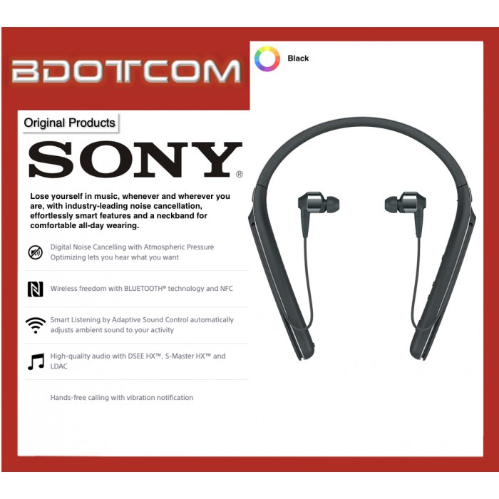 e15c35ed725 Original Sony WI-1000X Bluetooth Wireless Noise Cancelling Behind the Neck  Headphones