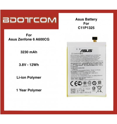 Asus Replacement Battery compatible with Asus Zenfone 6 A600CG