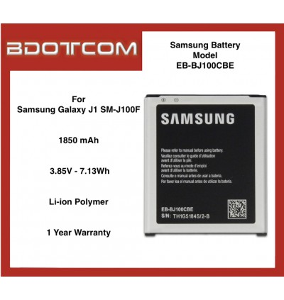 Samsung Replacement Battery compatible with Samsung Galaxy J1 SM-J100F