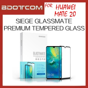 Huawei Mate 20 Siege Glastimate 2.5D Full Covered Premium Tempered Glass