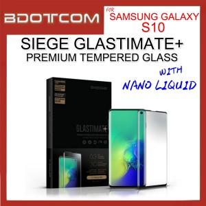 Samsung Galaxy S10 Siege Glastimate Plus 3D Tempered Glass with Nano Liquid